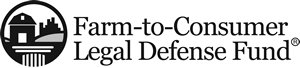 Farm-to-Consumer Legal Defense Fund Horizontal Logo B&W
