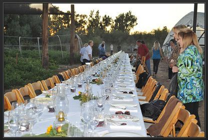 Farm to Fork Dinner at Quail Hollow Farm