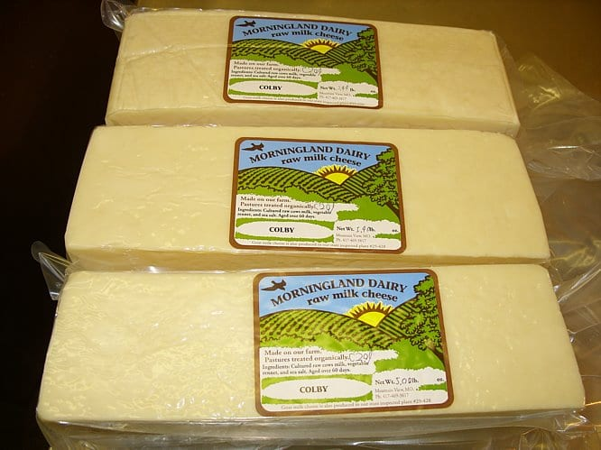 Morningland Cheese to Be Destroyed