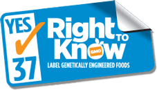 kNOw GMOs – Vote YES on Prop 37