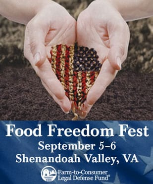 Food Freedom Fest Celebrates Local Food Hero