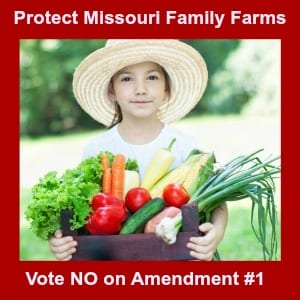 Vote NO and Protect Missouri Family Farms Action Alert