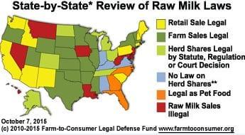 Raw Milk Nation – Chart & Map Updates