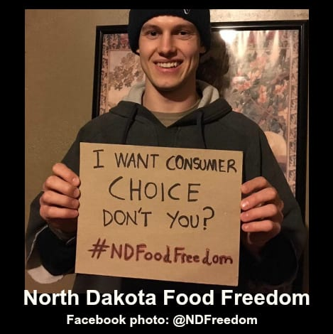 Governor Signs North Dakota Food Freedom Act