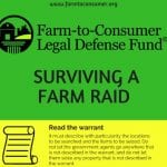 Surviving a Farm Raid Infographic