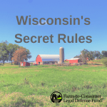 Wisconsin DATCP's Secret Rules