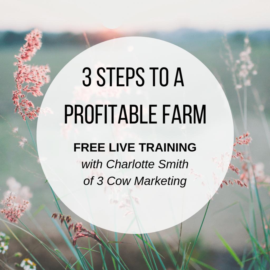 Free Profitable Farm Webinar
