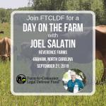 Joel Salatin at Reverence Farms