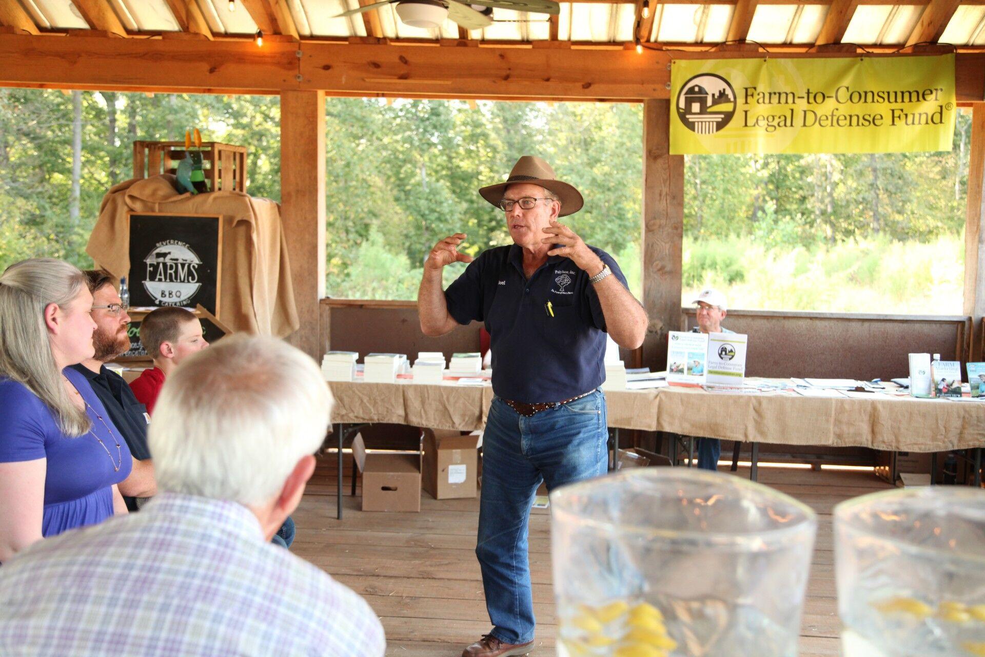 Joel speaking