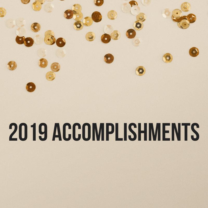 2019 Accomplishments