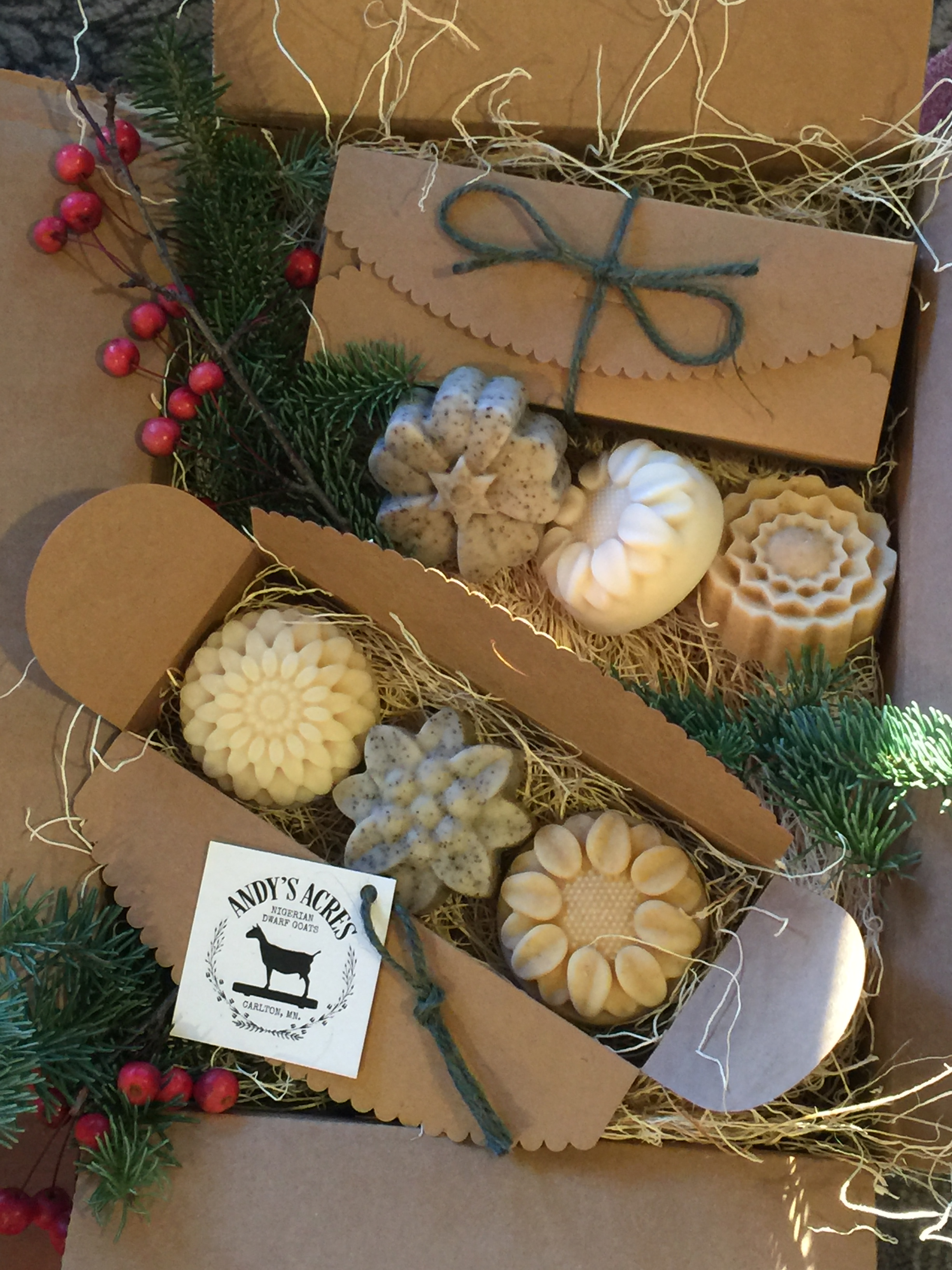 Andy's Acres Goat Milk Soaps