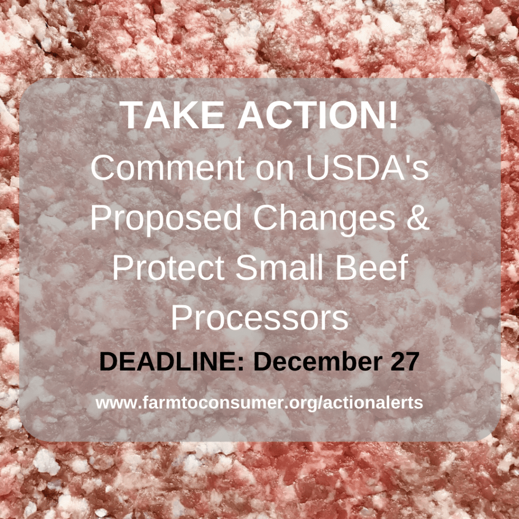 Ground Meat - USDA Salmonella Action Alert