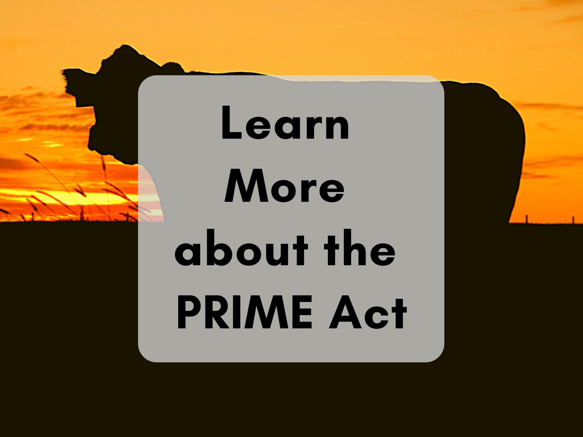 PRIME Act