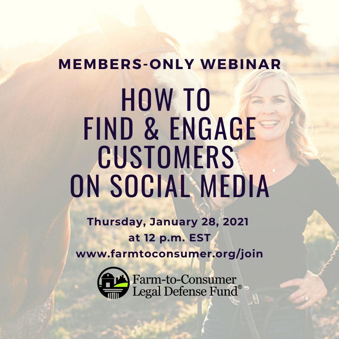 Webinar Engage Customers